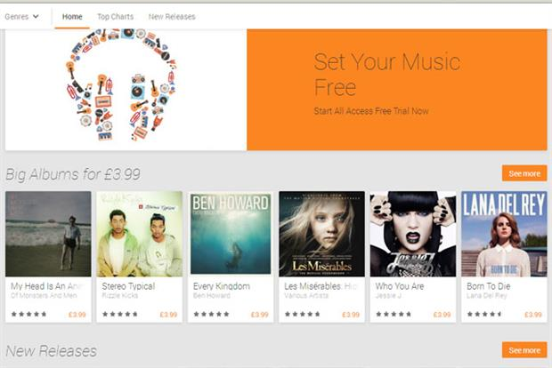 Google: unveils its All Access music-streaming service