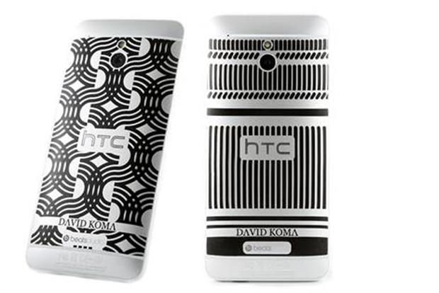 HTC: limited edition HTC One designs by David Koma