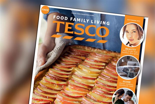 Tesco: unveils its new-look magazine