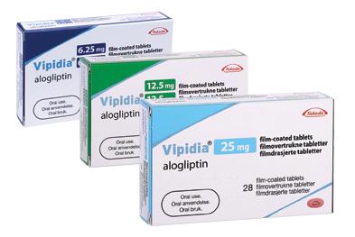 Alogliptin-Metformin