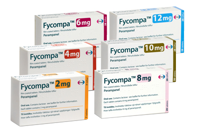 Fycompa is available in six different strengths and is administered as a single daily dose at bedtime.