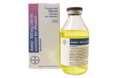 Intravenous Moxifloxacin Launched Mims Online