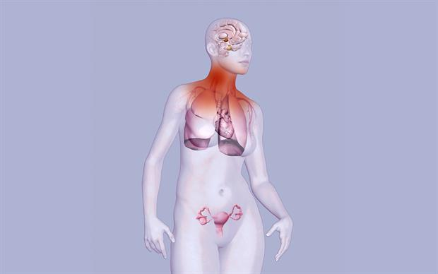In clinical studies of oestrogen/bazedoxifene, improvement of menopausal symptoms, including hot flushes, was achieved during the first few weeks of treatment. | SCIENCE PHOTO LIBRARY