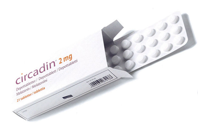 Circadin is a synthetic version of melatonin, the sleep-inducing hormone produced by the pineal gland