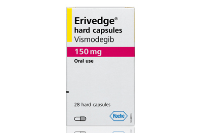 Erivedge (vismodegib) is administered once daily until disease progression or unacceptable toxicity occurs.