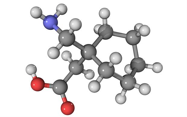 Gabapentin (pictured) and pregabalin bind to the same subunit of voltage-gated calcium channels. | SCIENCE PHOTO LIBRARY