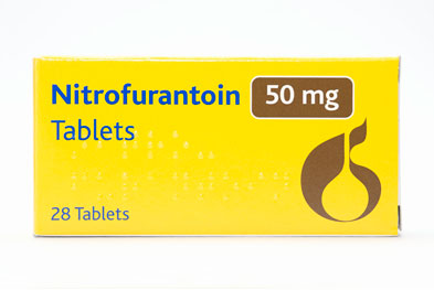 Prescribers should consider checking renal function when choosing to treat with nitrofurantoin, especially in the elderly.