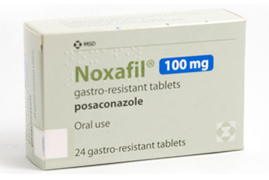 Noxafil is not recommended in children under 18 years of age.