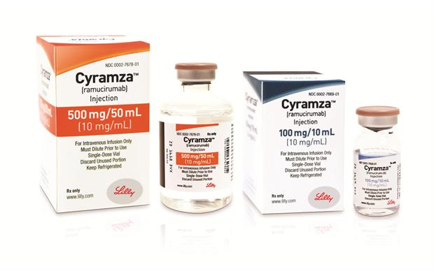 Cyramza (ramucirumab) is the first therapy available in the EU that is specifically indicated for the second-line treatment of advanced gastric and GEJ cancer
