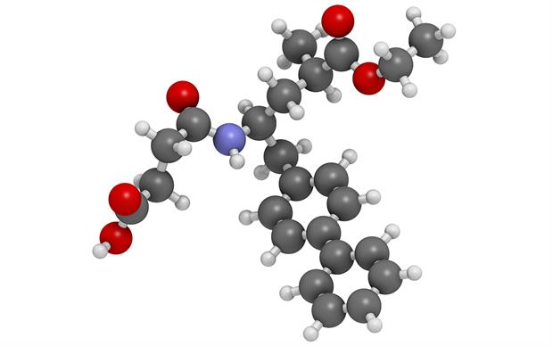 Sacubitril is combined with valsartan to provide the additional benefit of RAS blockade. | SCIENCE PHOTO LIBRARY