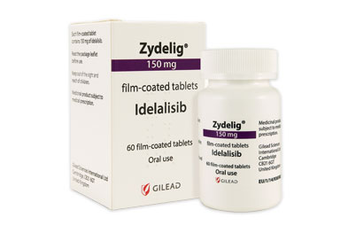 The usual dose of Zydelig (idelalisib) is 150mg twice daily continued until disease progression or unacceptable toxicity occurs.