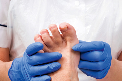 Outcomes improved in diabetic patients who had podiatry, study found (Photograph: James King-Holmes/SPL)