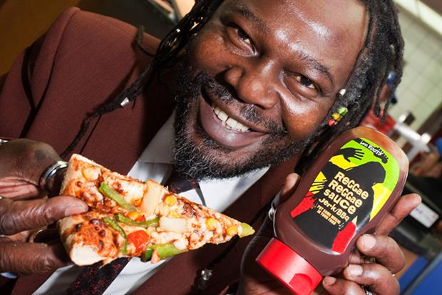 Levi Roots: Domino's creates Reggae Reggae pizza