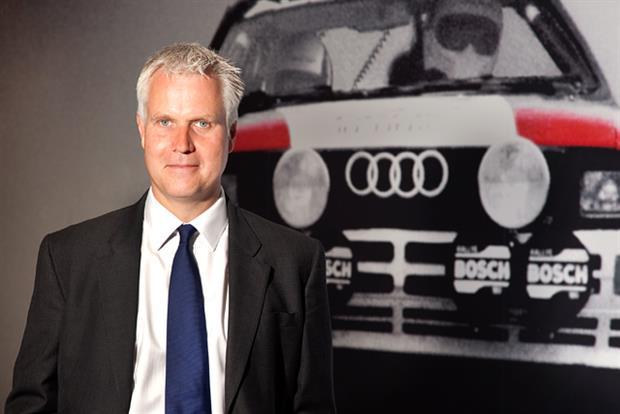 Dominic Chambers: new UK head of marketing at Audi