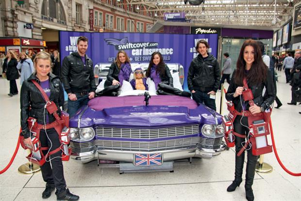 Swiftcover: sponsorship of Absolute Radio