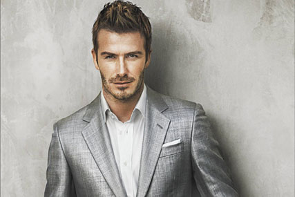 David Beckham: signed up by Yahoo!