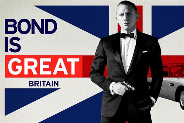 VisitBritain: Bond-themed cinema ad running in global markets