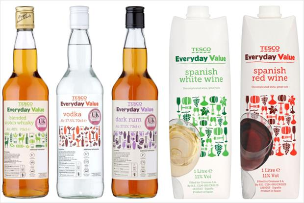 Tesco: Everyday Value alcohol range escaped censure
