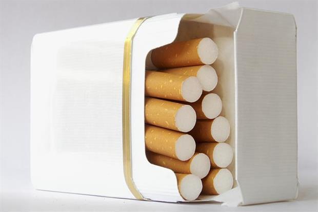 unbedruckte Zigarettenschachteln (Bild einer externen Quelle)