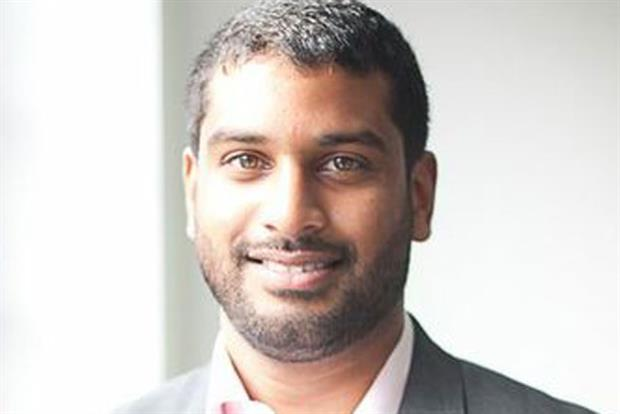 Gavin Sathianathan: joins Tesco's Blinkbox from Facebook