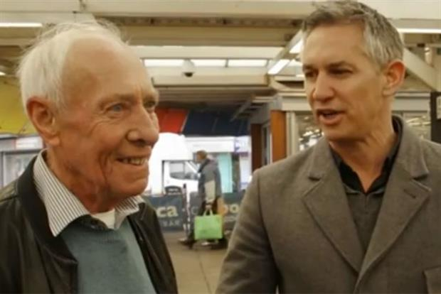 Walkers: latest social media campaign stars Barry and Gary Lineker