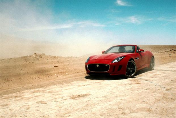 'Desire' starring Damian Lewis and the new Jaguar F-type