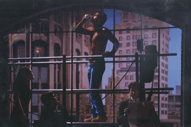 Behind the scenes: actor Robert Merrill on set of iconic Diet Coke ad