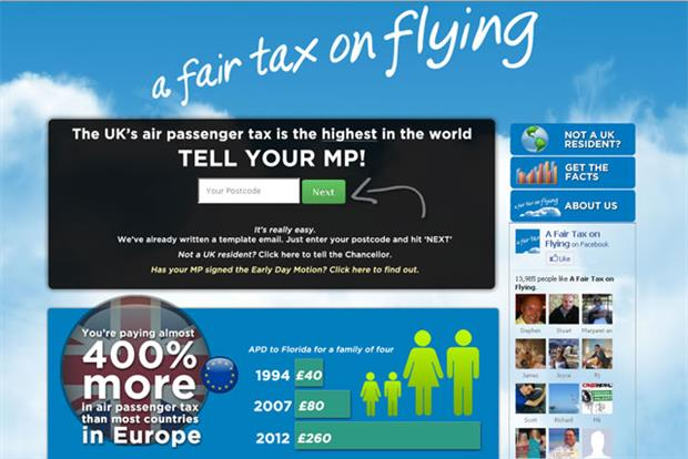 Online petition: 100,000 people have signed up to the Fair Tax on Flying appeal