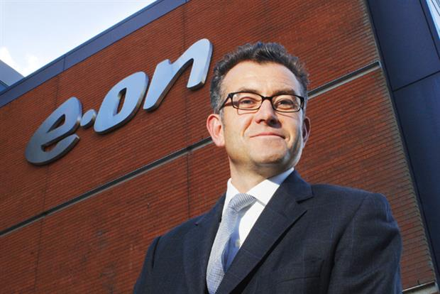 E.ON: marketing director Jeremy Davies is to leave the company