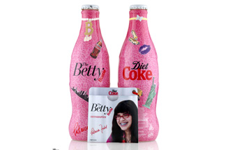 Diet Coke's Ugly Betty bottle