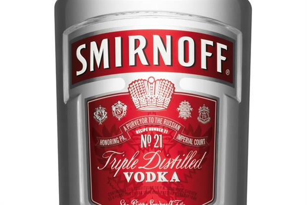 Smirnoff: European marketing chief departs