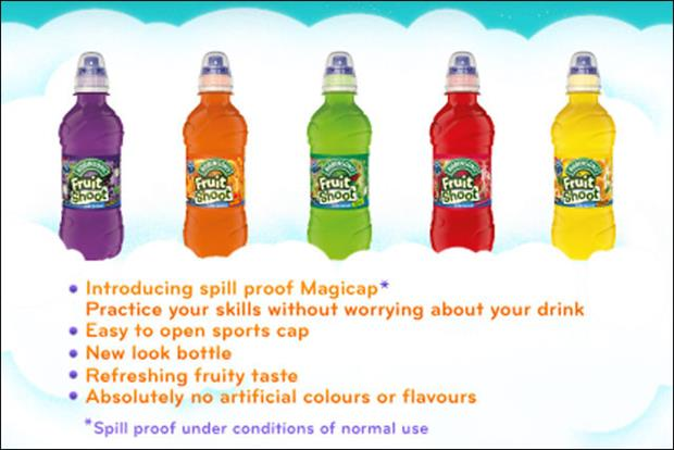 Robinson's Fruit Shoot: product recalled due to magicap problem