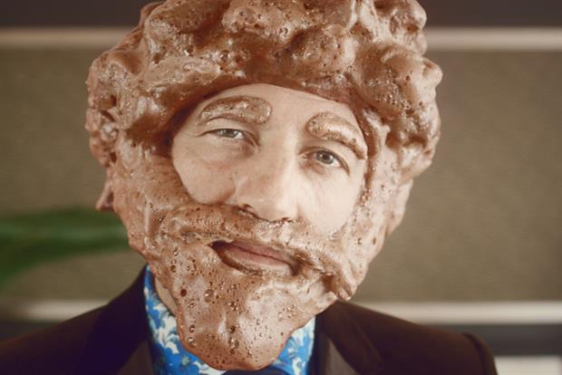 The Frothybeast: TV ad character for Mondelez-owned Cadbury's Wispa Hot Chocolate