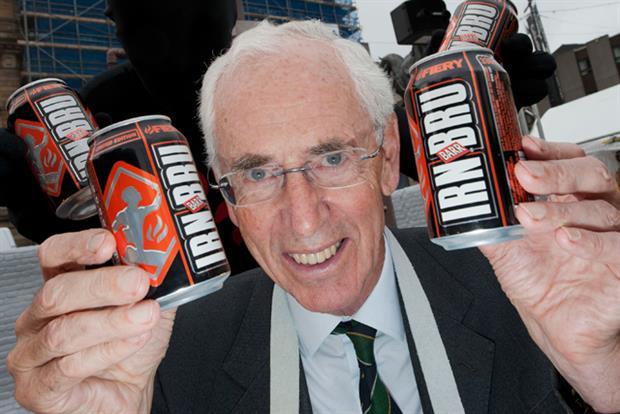 Irn Bru: former AG Barr chairman Robin Barr unveils Fiery Irn-Bru in Glasgow