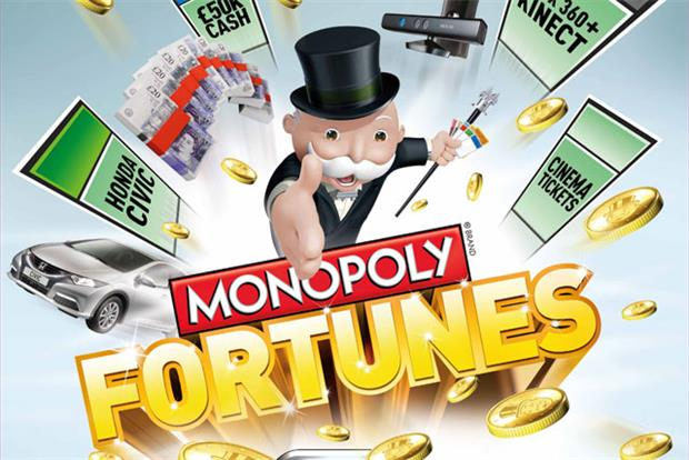 McDonald's: launches digital-gaming version of McDonald's Monopoly promotion