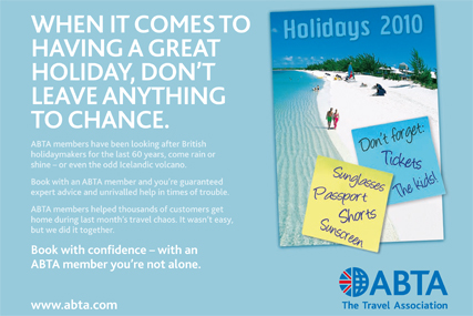 travel advertising campaigns
