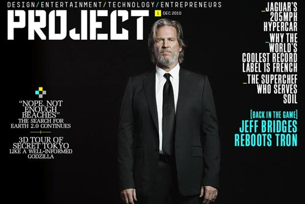 Project: iPad-only magazine launched by Sir Richard Branson