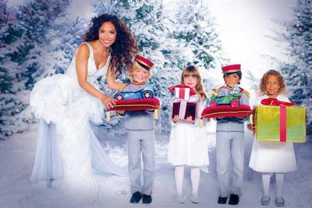 Littlewoods: Myleene Klass stars in Christmas ad campaign