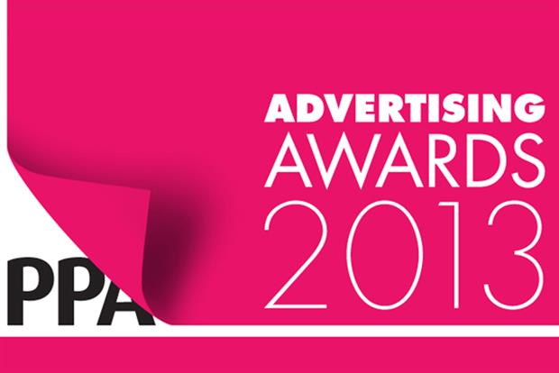 PPA Advertising Awards 2013: announces shortlist