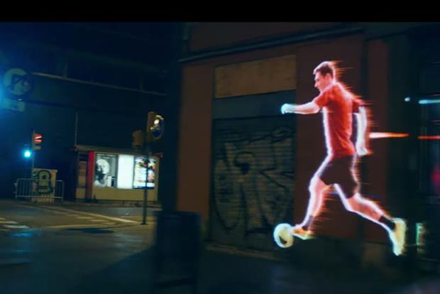 Leo Messi speeds across Barcelona in Adidas film promoting launch of f50 boot