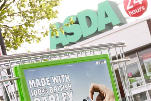 Asda: two million customers have downloaded the supermarket's apps