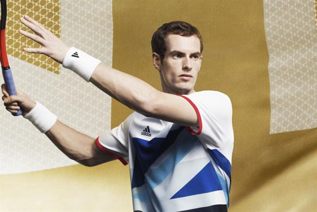 Andy Murray: introducing a personalised logo