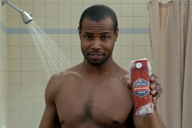 Old Spice ad: P&G brand