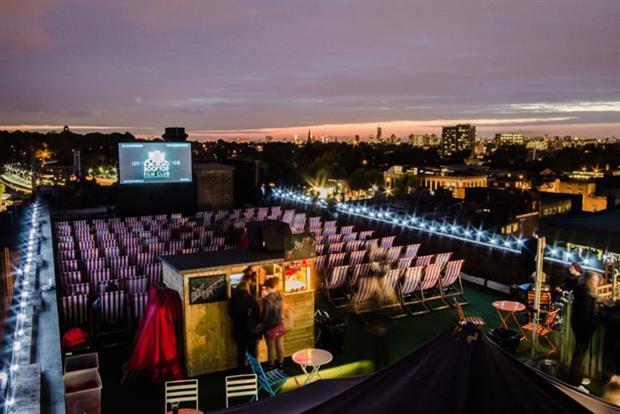 BA rooftop film club