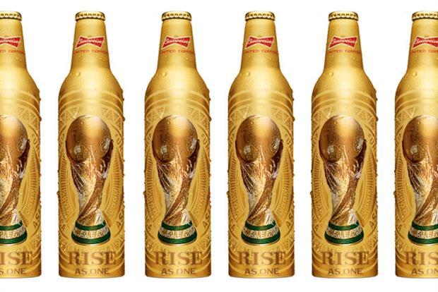 Budweiser: rolls out World Cup bottles