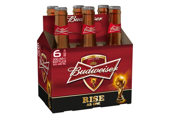 Budweiser: first major sponsor to announce World Cup activation plans