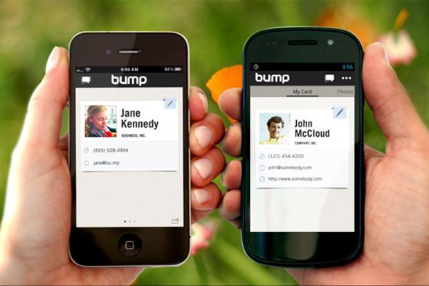 Bump: Bump: Google acquires information-sharing service