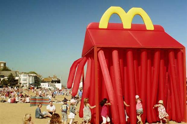 McDonald's: 2011 'happybox' campaign