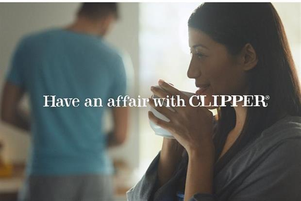 Clipper Teas: TV ad encourages consumer to cheat on their normal tea brands
