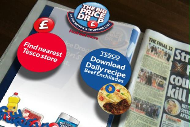Tesco: 'price drop' campaign
